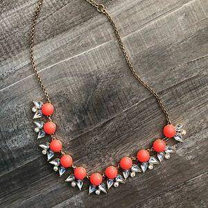 Beautiful bright J Crew statement necklace
